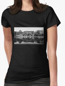 Winter In The Mirror Womens Fitted T-Shirt