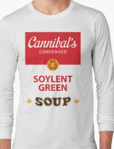 Cannibal's Soylent Green Soup Long Sleeve T-Shirt