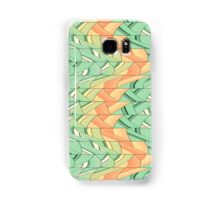 Emerald and salmon pattern Samsung Galaxy Case/Skin