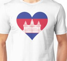A heart for Cambodia Unisex T-Shirt