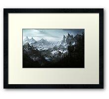 Skyrim Landscape Framed Print