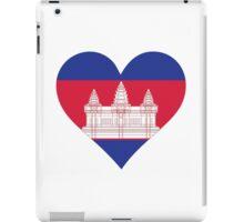 A heart for Cambodia iPad Case/Skin