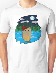 Cat in the forest Unisex T-Shirt