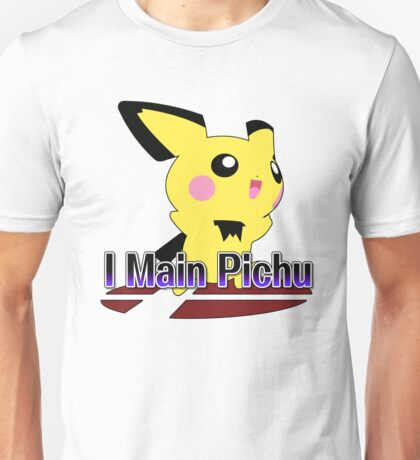 I Main Pichu - Super Smash Bros Melee Unisex T-Shirt