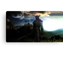 The elder scrolls Skyrim Canvas Print