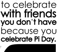 pi day Sticker