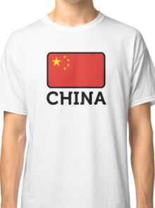 National Flag of China Classic T-Shirt