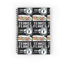 Temmie Flakes Spiral Notebook