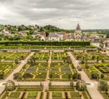 Gardens at Chateau de Villandry, France #3 Sticker