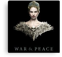 War And Peace 2016 Canvas Print