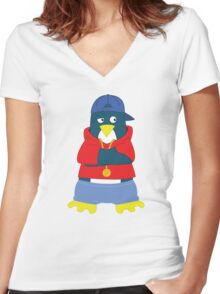 Cool P Women's Fitted V-Neck T-Shirt