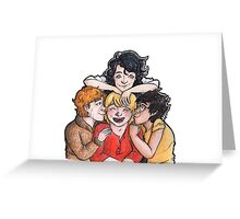 A Peter Pettigrew Sandwich Greeting Card