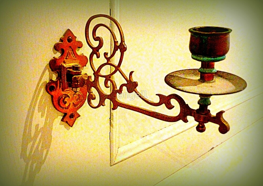 Antique piano candle holder by ©The Creative  Minds