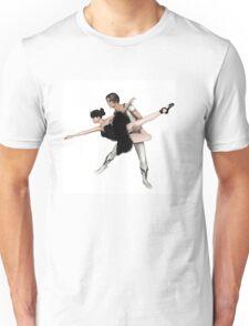 Black Swan Pas De Deux from Swan Lake Unisex T-Shirt