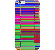 Spectrum data glitch iPhone Case/Skin