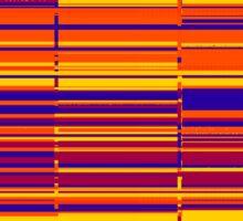 Sunrise spectrum data glitch Sticker