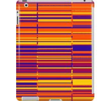 Sunrise spectrum data glitch iPad Case/Skin