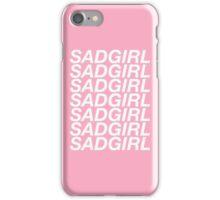 SADGIRL iPhone Case/Skin