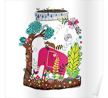 Elephant in the Jar Poster