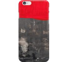 Love and shadow abstract III iPhone Case/Skin