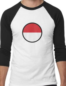 Under the sign of Indonesia Men's Baseball ¾ T-Shirt