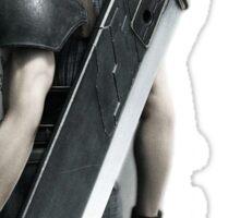 Final Fantasy VII Zack Sticker