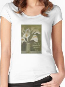 Have A Wonderful Mother's Day Women's Fitted Scoop T-Shirt