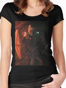 Interstellar Knight Women's Fitted Scoop T-Shirt
