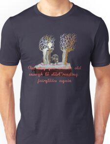 CS Lewis Narnia fairytale quote Unisex T-Shirt
