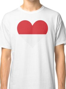 A heart for Indonesia Classic T-Shirt