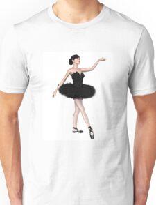 Black Swan Ballerina from Swan Lake Unisex T-Shirt