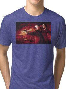 Supernatural Winchester Brothers Tri-blend T-Shirt