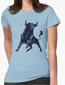 Blue Bull Womens Fitted T-Shirt
