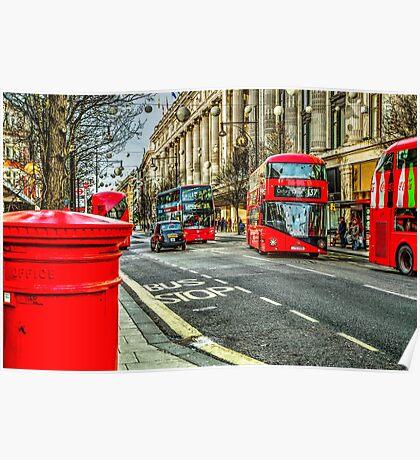 Oxford Street London Poster
