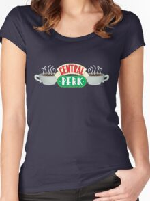Central Perk Logo from Friends Women's Fitted Scoop T-Shirt