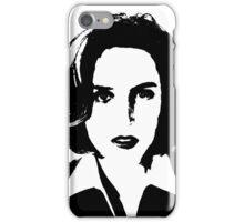 X-Files - Dana Scully iPhone Case/Skin
