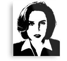 X-Files - Dana Scully Metal Print