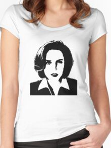X-Files - Dana Scully Women's Fitted Scoop T-Shirt