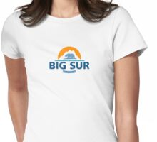 Big Sur. Womens Fitted T-Shirt