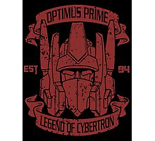 Legend Of Cybertron - Optimus Photographic Print