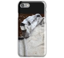 The Cowled Figure In The Dead Of The Night iPhone Case/Skin