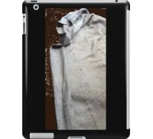 The Cowled Figure In The Dead Of The Night iPad Case/Skin