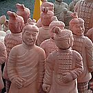 Chinese Terra-Cotta Army by Woodie