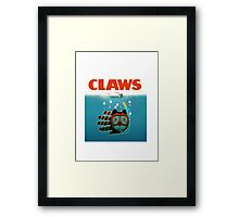 Claws play on Jaws Framed Print