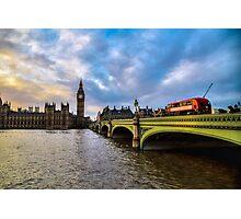 Big Ben London Photographic Print