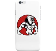 Iron Lion iPhone Case/Skin