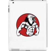 Iron Lion iPad Case/Skin