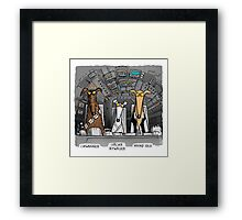 Hound Solo (assorted) Framed Print