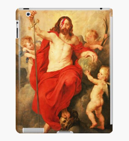 Jesus Ziggy Stardust iPad Case/Skin