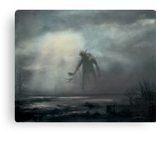 Marsh Walker Canvas Print
